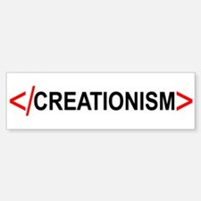 End Creationism Bumper Bumper Bumper Sticker