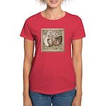 Stone Homer Pigeons Women's Dark T-Shirt