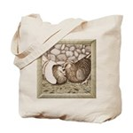 Stone Homer Pigeons Tote Bag