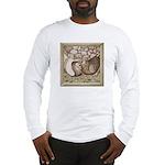 Stone Homer Pigeons Long Sleeve T-Shirt