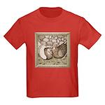 Stone Homer Pigeons Kids Dark T-Shirt