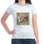 Stone Homer Pigeons Jr. Ringer T-Shirt