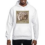 Stone Homer Pigeons Hooded Sweatshirt