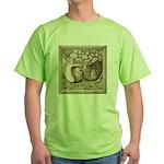 Stone Homer Pigeons Green T-Shirt
