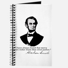 Abraham Lincoln Mercy Quote Journal