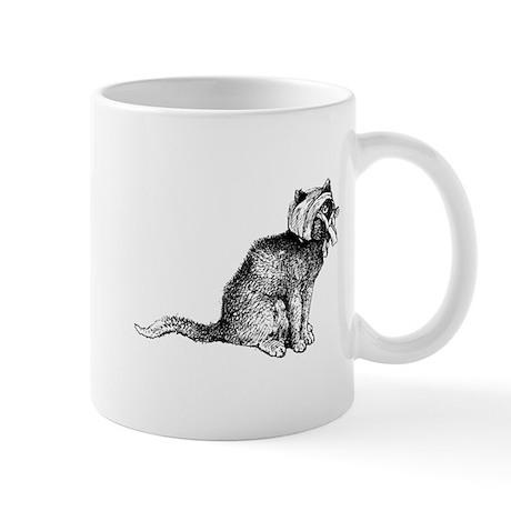 Wounded Kitty Mug