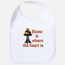 Home is where the heart is Bib