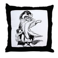 Well Dressed Cat Throw Pillow