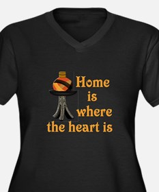 Home is where the heart is #2 Women's Plus Size V-