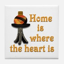 Home is where the heart is #2 Tile Coaster