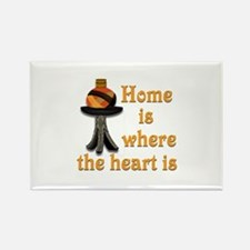 Home is where the heart is #2 Rectangle Magnet
