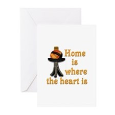 Home is where the heart is #2 Greeting Cards (Pk o
