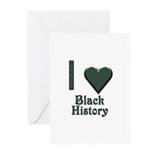 I Love Black History Greeting Cards (Pk of 20)