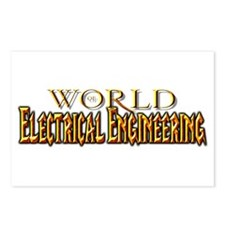 World of Electrical Engineering Postcards (Package