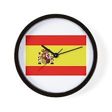 Bandera de España Wall Clock
