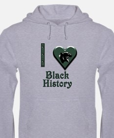 I Love Black History with Black Panther Hoodie