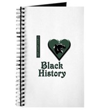 I Love Black History with Black Panther Journal