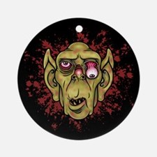 Zombie Troll Ogre Ornament (Round)