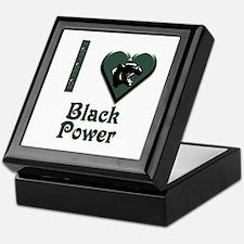I Love Black Power Keepsake Box