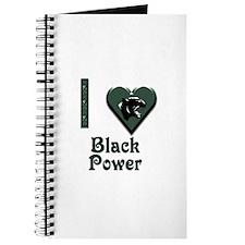 I Love Black Power Journal