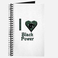 I Love Black Power Journal