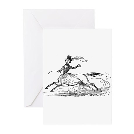 Lady Centaur Greeting Cards (Pk of 10)