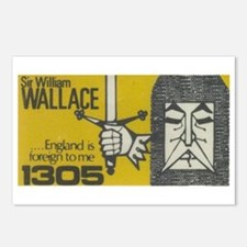Highlander: William Wallace Postcards (Package of