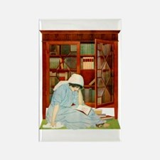 LOST HORIZONS by Coles Phillips Rectangle Magnet