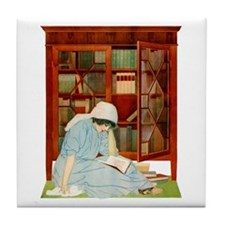 LOST HORIZONS by Coles Phillips Tile Coaster