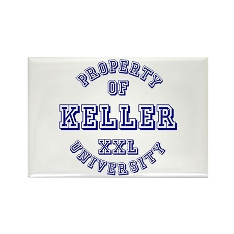 Property of Kelly University Rectangle Magnet