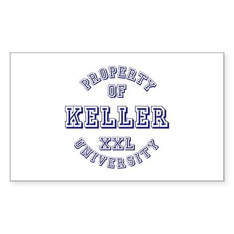 Property of Kelly University Rectangle Sticker