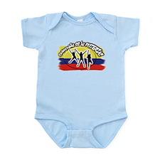 Colombia es la puteria Infant Bodysuit