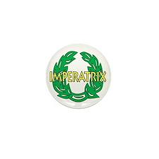 Imperatrix (white) Mini Button (10 pack)