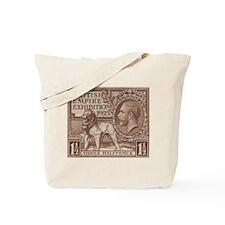 KGV Wembley 1925 Tote Bag