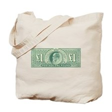 KE7 One Pound green Tote Bag