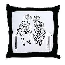 Little Readers Throw Pillow