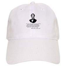 Remarkable Lincoln Law of the Land Quote Baseball Cap