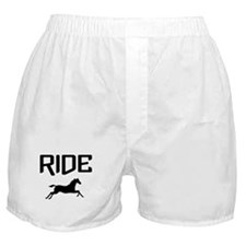 Ride...Horse Boxer Shorts