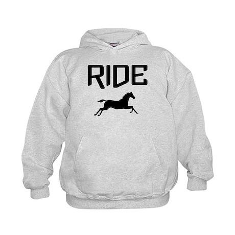 Ride...Horse Kids Hoodie