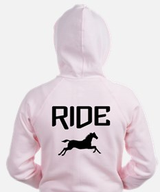 Ride...Horse Zip Hoody