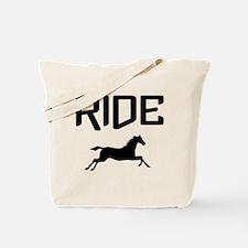 Ride...Horse Tote Bag