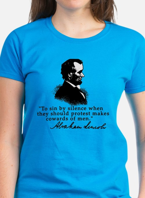 Lincoln to Sin by Silence Tee