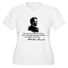 Lincoln to Sin by Silence T-Shirt