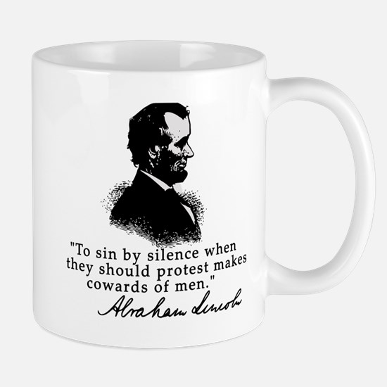 Lincoln to Sin by Silence Mug