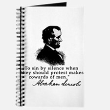 Lincoln to Sin by Silence Journal