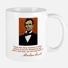 Abe Lincoln FREEDOM Quote Mug