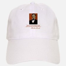 Abe Lincoln FREEDOM Quote Baseball Baseball Cap
