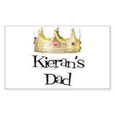 Kieran's Dad Rectangle Decal