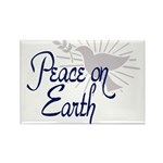 Peace On Earth Rectangle Magnet (100 pack)