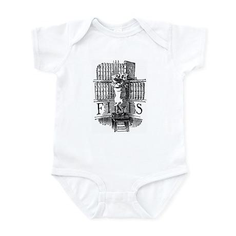 Book Dog Infant Bodysuit